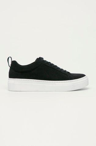 Vagabond - Semišové topánky Zoe Platform
