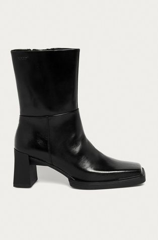 Vagabond - Kožené členkové topánky Edwina