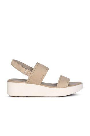Geox - Kožené sandály