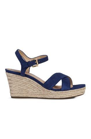 Geox - Sandały zamszowe