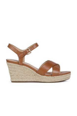Geox - Semišové sandále