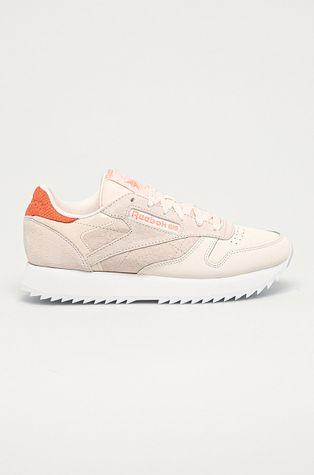 Reebok Classic - Bőr cipő CL Lthr Ripple
