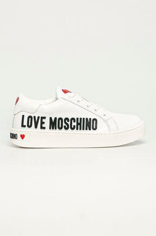 Love Moschino - Kožené boty
