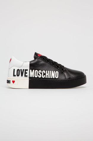 Love Moschino - Buty skórzane
