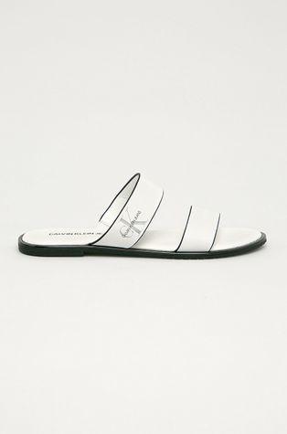Calvin Klein Jeans - Kožené šľapky