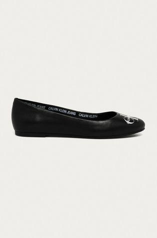 Calvin Klein Jeans - Baleriny skórzane