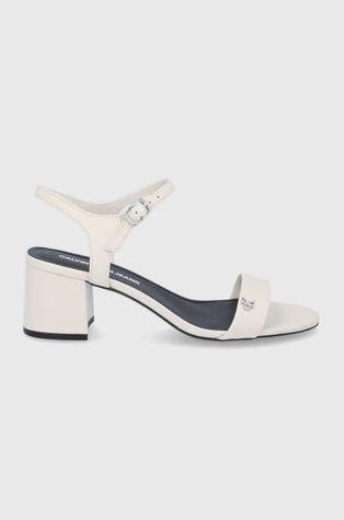 Calvin Klein Jeans - Sandały skórzane