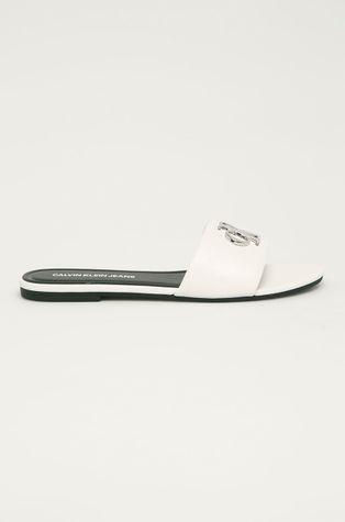 Calvin Klein Jeans - Klapki skórzane