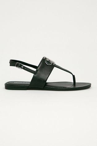 Calvin Klein Jeans - Kožené sandále