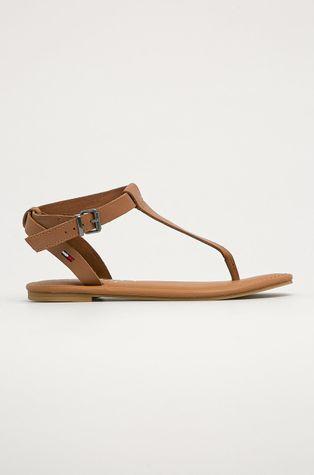 Tommy Jeans - Kožené sandály