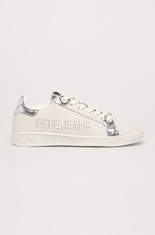 Pepe Jeans - Kožená obuv Brompton Touch