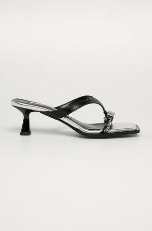 Karl Lagerfeld - Kožené šľapky