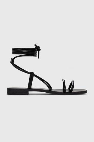Karl Lagerfeld - Kožené sandály
