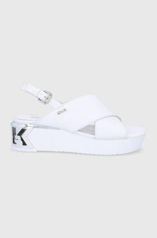 Karl Lagerfeld - Sandały skórzane