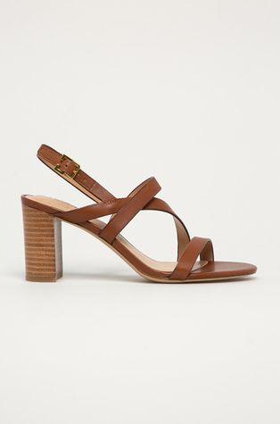 Lauren Ralph Lauren - Kožené sandály