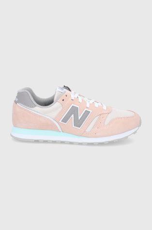 New Balance - Kožená obuv WL373CP2