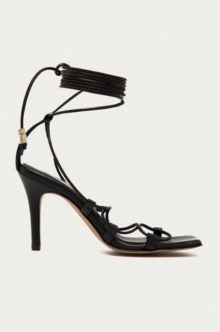 AllSaints - Kožené sandály Alice