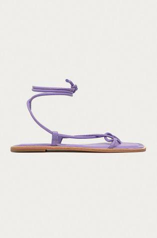 Aldo - Kožené sandále Adravia