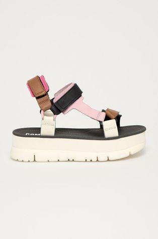 Camper - Kožené sandály Oruga Up