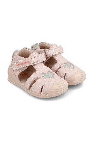 Biomecanics - Detské kožené sandále