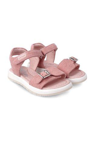Garvalin - Dětské semišové sandály