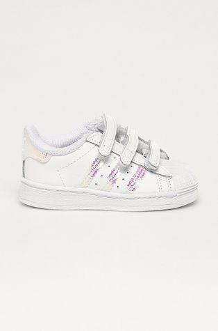 adidas Originals - Dětské kožené boty Superstar Cf