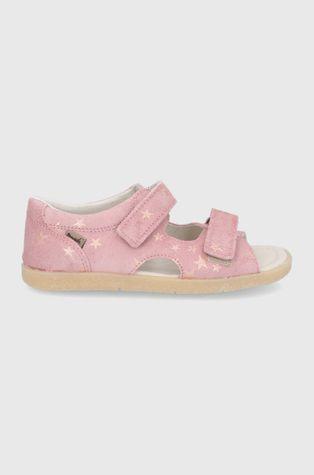 Mrugała - Detské kožené sandále