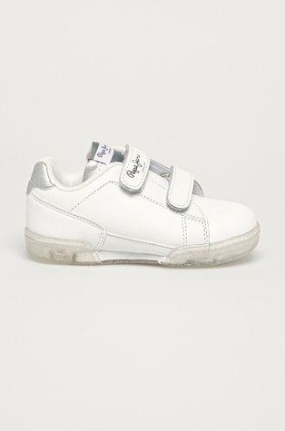 Pepe Jeans - Dětské kožené boty Lambert