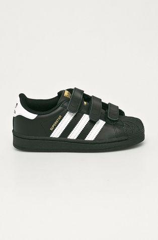 adidas Originals - Buty skórzane dziecięce Superstar CF