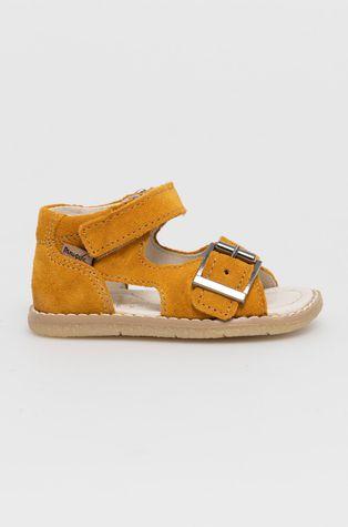 Mrugała - Dětské semišové sandály