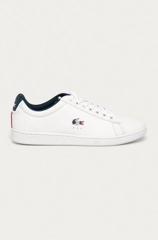 Lacoste - Kožené boty Carnaby Evo TRI1