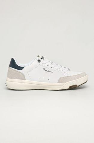 Pepe Jeans - Buty skórzane Slate Pro Basic
