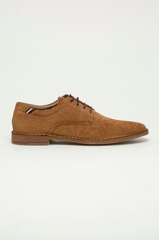 Tommy Hilfiger - Pantofi de piele intoarsa