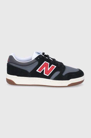 New Balance - Kožená obuv BB480LVB