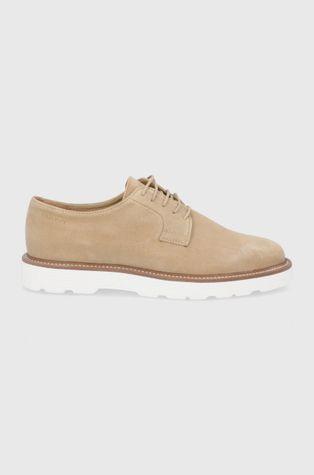 Gant - Половинки обувки от велур Prepburg