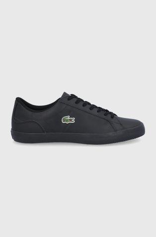 Lacoste - Kožené boty Lerond