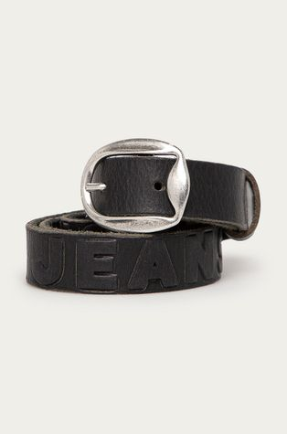Pepe Jeans - Kožený opasok Lisa