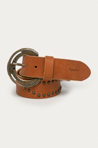 Pepe Jeans - Pasek skórzany Flora