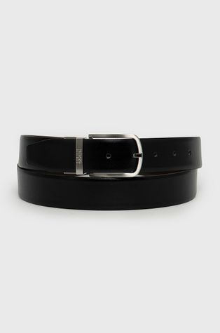Boss - Oboustranný kožený pásek