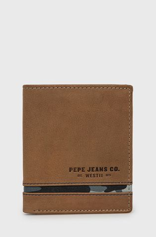 Pepe Jeans - Portfel skórzany