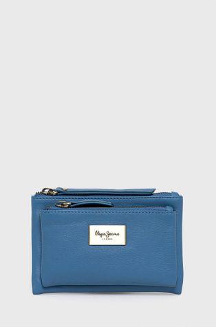 Pepe Jeans - Kožená peňaženka Blue