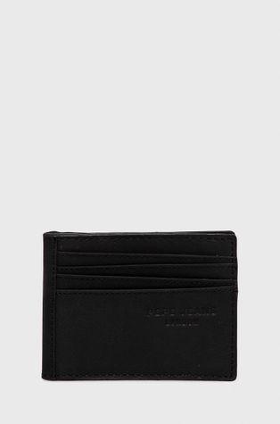 Pepe Jeans - Portfel skórzany Credit Card Wallet