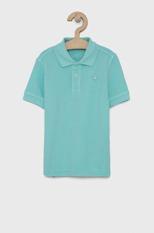 United Colors of Benetton - Детска тениска с яка