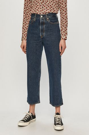 Levi's - Jeansy Ribcage Straight Ankle