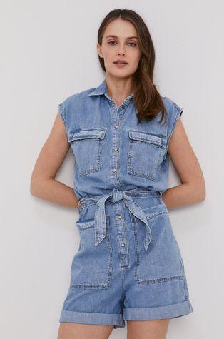 Pepe Jeans - Kombinezon jeansowy Gemini