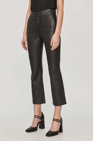 Red Valentino - Spodnie skórzane