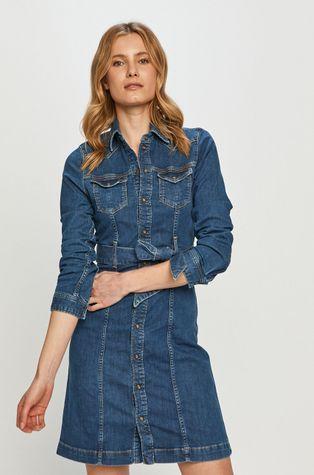 Pepe Jeans - Sukienka jeansowa Julie