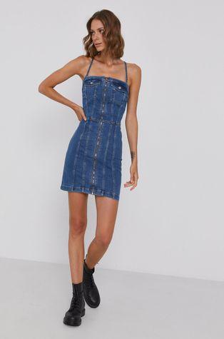 Pepe Jeans - Sukienka jeansowa Mirella