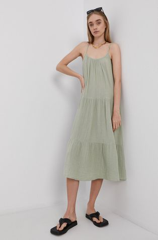 Vero Moda - Sukienka bawełniana