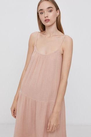 Vero Moda - Bavlněné šaty
